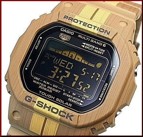 CASIO/G-SHOCK【カシオ/Gショック】G-LIDE/Gライド ソーラー電波腕時計 ブラウン 海外モデル【並行輸入品】 GWX-5600WB-5