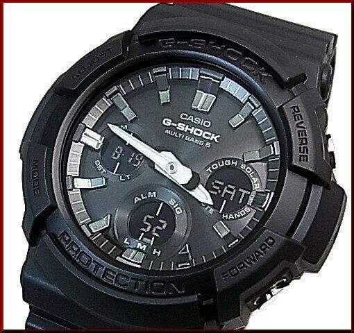 CASIO/G-SHOCK【カシオ/Gショック】ソーラー電波腕時計 アナデジモデル 海外モデル【並行輸入品】GAW-100B-1A