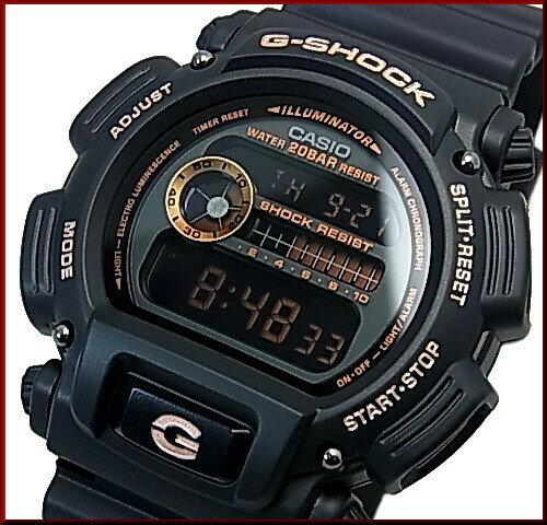CASIO/G-SHOCK【カシオ/Gショック】BASIC ベーシック ブラック/ローズゴールド 海外モデル【並行輸入品】 DW-9052GBX-1A4