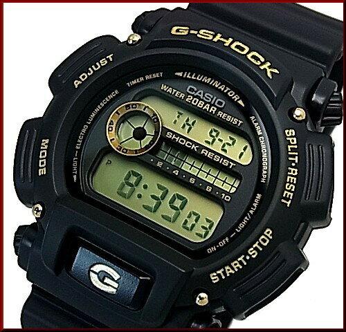 CASIO/G-SHOCK【カシオ/Gショック】BASIC ベーシック ブラック/ゴールド 海外モデル【並行輸入品】DW-9052GBX-1A9