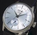 SEIKO/Presage メカニカル【セイコー/プレサージュ】パワーリザーブ付 自動巻 メンズ腕時計 ライトブルー文字盤 ブラ…