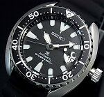 SEIKO/PROSPEX/200mdiver'swatch【セイコー/プロスペックス/200m防水ダイバーズ】自動巻ブラックベゼルメンズ腕時計ラバーベルトブラック文字盤海外モデル【並行輸入品】SRPC37K1