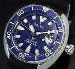 SEIKO/PROSPEX/200mdiver'swatch【セイコー/プロスペックス/200m防水ダイバーズ】自動巻ブラックベゼルメンズ腕時計ラバーベルトネイビー文字盤海外モデル【並行輸入品】SRPC39K1