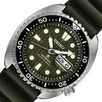 SEIKO/PROSPEX/200mdiver'swatch【セイコー/プロスペックス/200m防水ダイバーズ】自動巻メンズ腕時計グリーン文字盤グレーラバーベルト海外モデル【並行輸入品】SRPE05K1