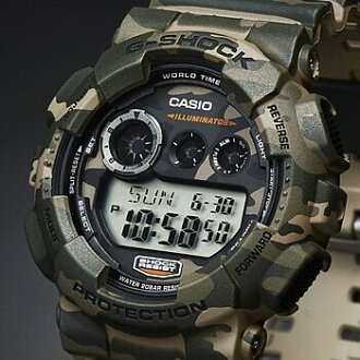 CASIO G-SHOCK Camouflage Series men's Watch (reverse import model) GD-120CM-5