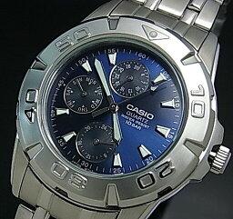 CASIO/Standard多功能人手錶深藍表盤金屬皮帶(國內正規的物品)MTD-1047A-2AJF