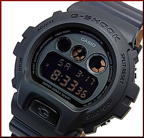 CASIO/G-SHOCK【カシオ/Gショック】Military Color / ミリタリーカラー ブラック/ブラウン メンズ腕時計(国内正規品)DW-6900LU-1JF