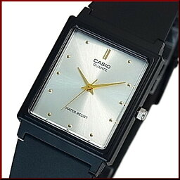 CASIO/Standard模擬石英人手錶橡膠皮帶銀子/黄金表盤海外型號MQ-38-7A