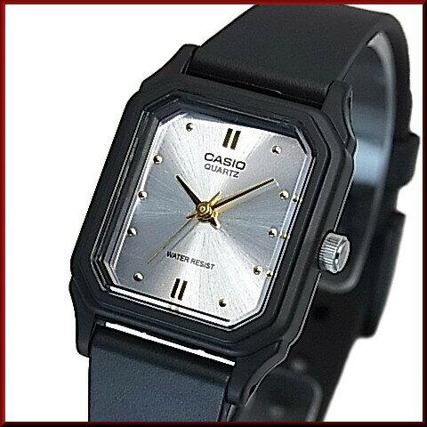 CASIO/Standard【カシオ/スタンダード】アナログクォーツ レディース腕時計 ラバーベルト シルバー/ゴールド文字盤 海外モデル【並行輸入品】LQ-142E-7A