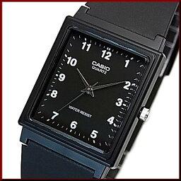 CASIO/Standard模擬石英人手錶橡膠皮帶黑色表盤海外型號MQ-27-1B