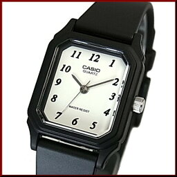 CASIO/Standard模擬石英女士手錶橡膠皮帶白表盤海外型號LQ-142-7B
