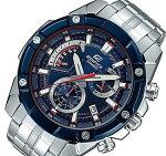 CASIO/EDIFICE【カシオ/エディフィス】レトログラードクロノグラフメンズ腕時計スクーデリア・トロ・ロッソ・リミテッドエディションメタルベルト海外モデル【並行輸入品】EFR-559TR-2A