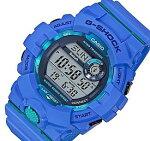 CASIO/G-SHOCK【カシオ/Gショック】G-SQUAD/ジー・スクワットブルートゥースモバイルリンクモデルメンズ腕時計ブルー海外モデル【並行輸入品】GBD-800-2