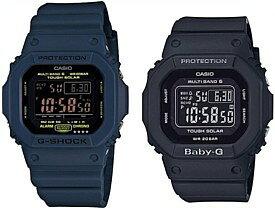 CASIO/G-SHOCK/Baby-G【カシオ/Gショック/ベビーG】ペアウォッチ ソーラー電波腕時計 ネイビー/ブラック GW-M5610NV-2JF/BGD-5000MD-1JF(国内正規品)