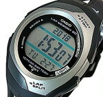 CASIO/PHYS【カシオ/フィズ】タフバッテリー10モデルランニングウォッチ腕時計ボーイズサイズブラック海外モデル【並行輸入品】STR-300C-1