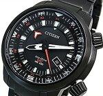 CITIZEN/PROMASTER【シチズン/プロマスター】メンズ腕時計エコドライブ200M防水ダイバーズブラックケースブラック文字盤ブラックメタルベルト海外モデル【並行輸入品】BJ7086-57E