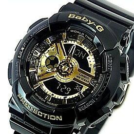 4fe3406b50 CASIO/Baby-G【カシオ/ベビーG】レディース腕時計 ブラック/ゴールド