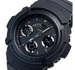 CASIO/G-SHOCK【カシオ/Gショック】デジアナモデルメンズ腕時計ブラック(海外モデル)AW-591BB-1A