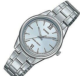 CASIO/Standard【カシオ/スタンダード】レディース腕時計 ライトブルー文字盤 メタルベルト 海外モデル【並行輸入品】LTP-V005D-2B3