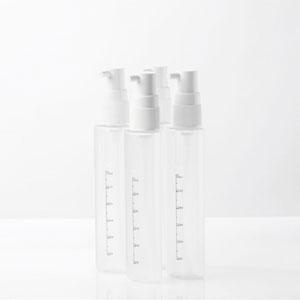 4in1詰め替えボトル入れ替えボトル(グレー)携帯ボトル旅行用ボトル詰め替えボトル詰め替え容器
