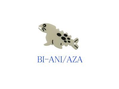 イヤホン ケーブル 巻き【動物型】BI-ANI/AZA アザラシ ●送料無料 代引及び配達日時指定不可 ゆうパケット限定発送●ブライトンネット
