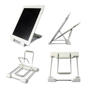 ★iPad Retina・iPad mini・Nexus 7・KindleワイヤーフレームスタンドBM-WIRESTD/WH 【送料無料】★★この商品は北海道・沖縄・離島への配送は対応しておりません。ブライトンネット