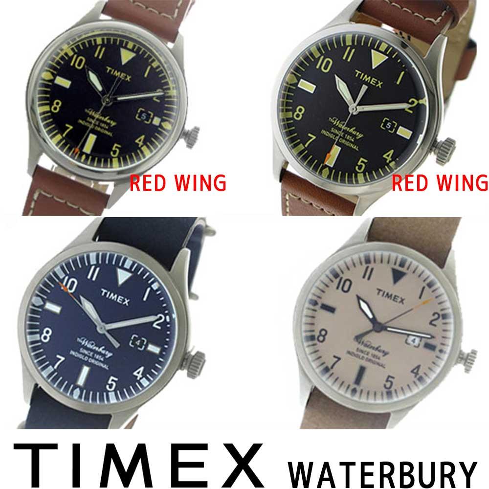 【3年保証対応】【海外正規品】 タイメックス TIMEX ウォーターベリー WATERBURY RED WING レッドウィング クオーツ 人気 今 話題 TW2P84000 TW2P84600 TW2P64500 TW2P64600