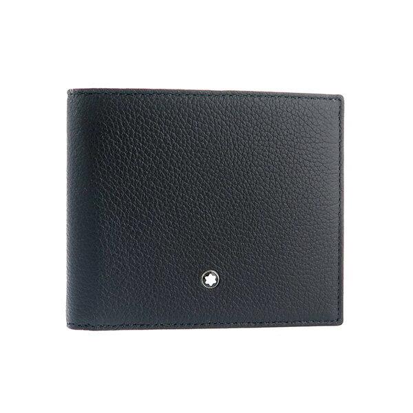 【送料無料】モンブラン MONTBLANC マイスターシュテュック 短財布 114464 ブラック