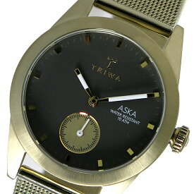 トリワ TRIWA クオーツ レディース 腕時計 AKST103-MS121717 グレー / ゴールド