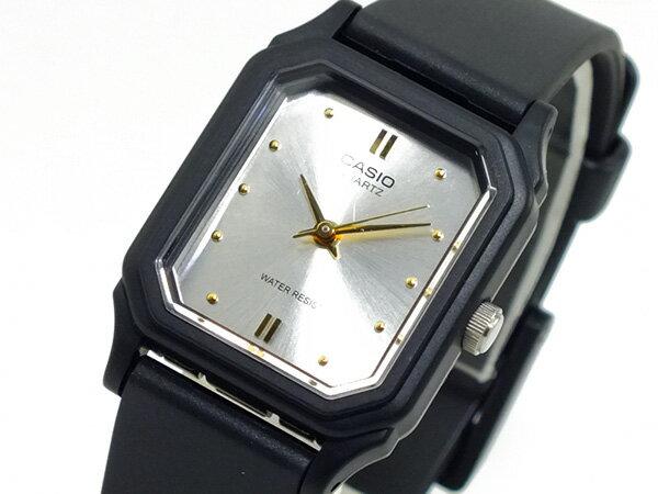 【メール便】カシオ CASIO クオーツ 腕時計 レディース LQ-142E-7A シルバー ウォッチ 時計 うでどけい