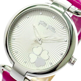 フォリフォリ FOLLIFOLLIE 腕時計 レディース WF15T029SPW-FU HEART 4 HEART ホワイト ピンク