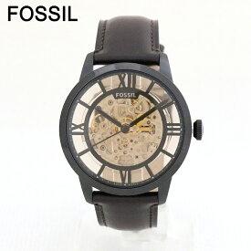 フォッシル タウンズマン 腕時計 メンズ ME3098 Townsman FOSSIL 自動巻き スケルトン