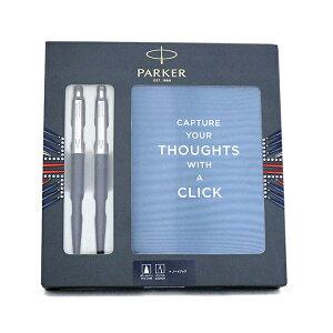 パーカー PARKER ボールペン&シャープペンシル ノートブック付きギフトセット 21-18367 ジョッター ブラックCT BP PCL ブラック