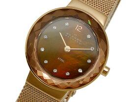 スカーゲン SKAGEN 腕時計 456SRR1 ブラウンシェル