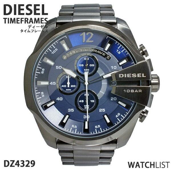 【送料無料】ディーゼル DIESEL クオーツ クロノグラフ メンズ 腕時計 DZ4329 ブルーブラック