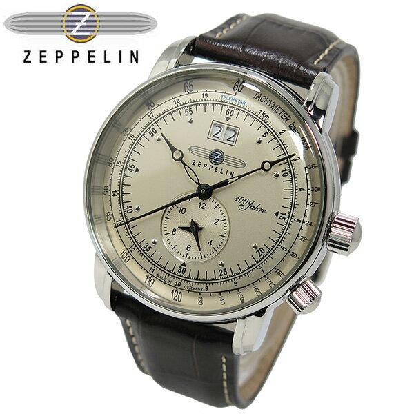 【送料無料】ツェッペリン ZEPPELIN 100周年 記念モデル LZ1 クオーツ メンズ 腕時計 7640-1