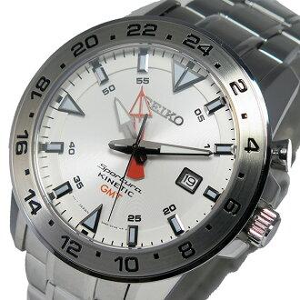 세이코스포츄라키네틱크오트멘즈 손목시계 SUN025P1 화이트