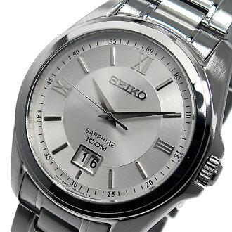 Seiko SEIKO quartz mens watch SUR097P1 silver
