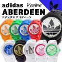 アディダス アバディーン 腕時計 adidas originals ブラック メンズ レディース レッド ブルー グリーン オレンジ ゴ…
