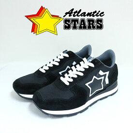 アトランティックスターズ スニーカー メンズ アンタレス NNNN-BT10 ブラック 選べる6size ATLANTIC STARS ANTAR 男性 彼氏 旦那 息子 お父さん 誕生日プレゼント クリスマス バレンタイン 記念日