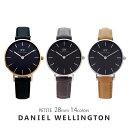 【3年保証】ダニエルウェリントン 腕時計 レディース ペティート 28MM 選べる14color Daniel Wellington PETITE シン…