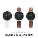 【 3年保証】ダニエルウェリントン 腕時計 レディース ペティート 32MM ブラック 選べる14color DANIEL WELLINGTON PE…