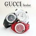 グッチ GUCCI 腕時計 レディース シンク SYNC 32MM 選べる3color クオーツ ブラック ホワイト レッド 人気ブランド 彼…