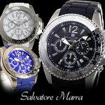 【送料無料】【あす楽】サルバトーレマーラクオーツクロノグラフメンズ腕時計