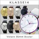 【3年保証】【海外正規】クラスフォーティーン KLASSE14 ヴォラーレ Volare 36mm レザーベルト クオーツ レディース …
