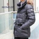 【2019年 秋冬新作】モンクレール MONCLER クルーニー CLUNY ダウンジャケット ファー フード メンズ 4138025 68352 9…