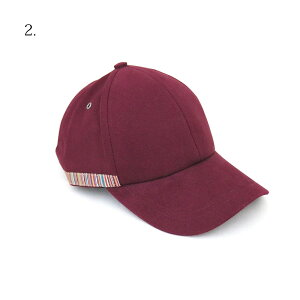 ポールスミスキャップメンズレディースM1A385FEH575選べる4colorPaulSmith帽子ベースボールキャップコットン100%男女兼用ユニセックス男性女性誕生日プレゼントシンプル無地