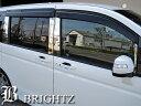 【BRIGHTZ ステップワゴン RK1-2 RK5-6 超鏡面メッキピラーパネルカバー 10PC 標準バイザー有り用】