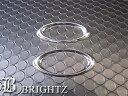 【BRIGHTZ ワゴンRスティングレー MH34S メッキサイドマーカーリング Bタイプ】【 SID−RIN−050 】ワゴンアールステ…