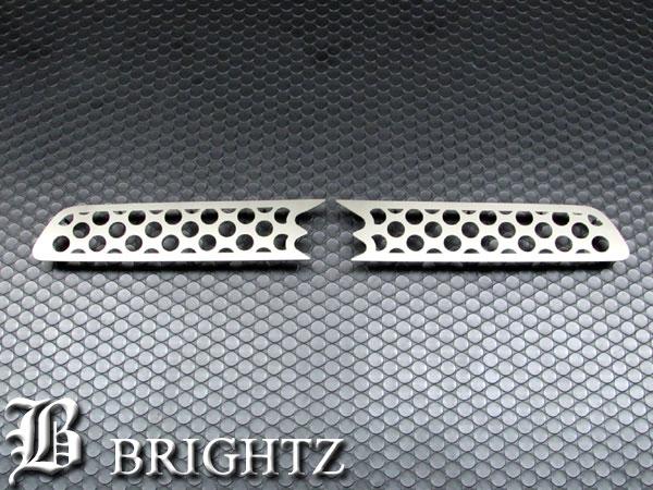 【 BRIGHTZ ハスラー MR31S MR41S 超鏡面ステンレスメッキグリルカバー 】 【 GRI−ETC−031 】